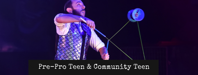 Diabolo Pre Professional Teen and Community Circus Displays